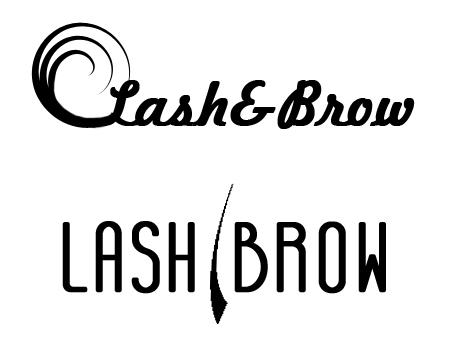Фото логотипы для студии по наращиванию ресниц 2 варианта