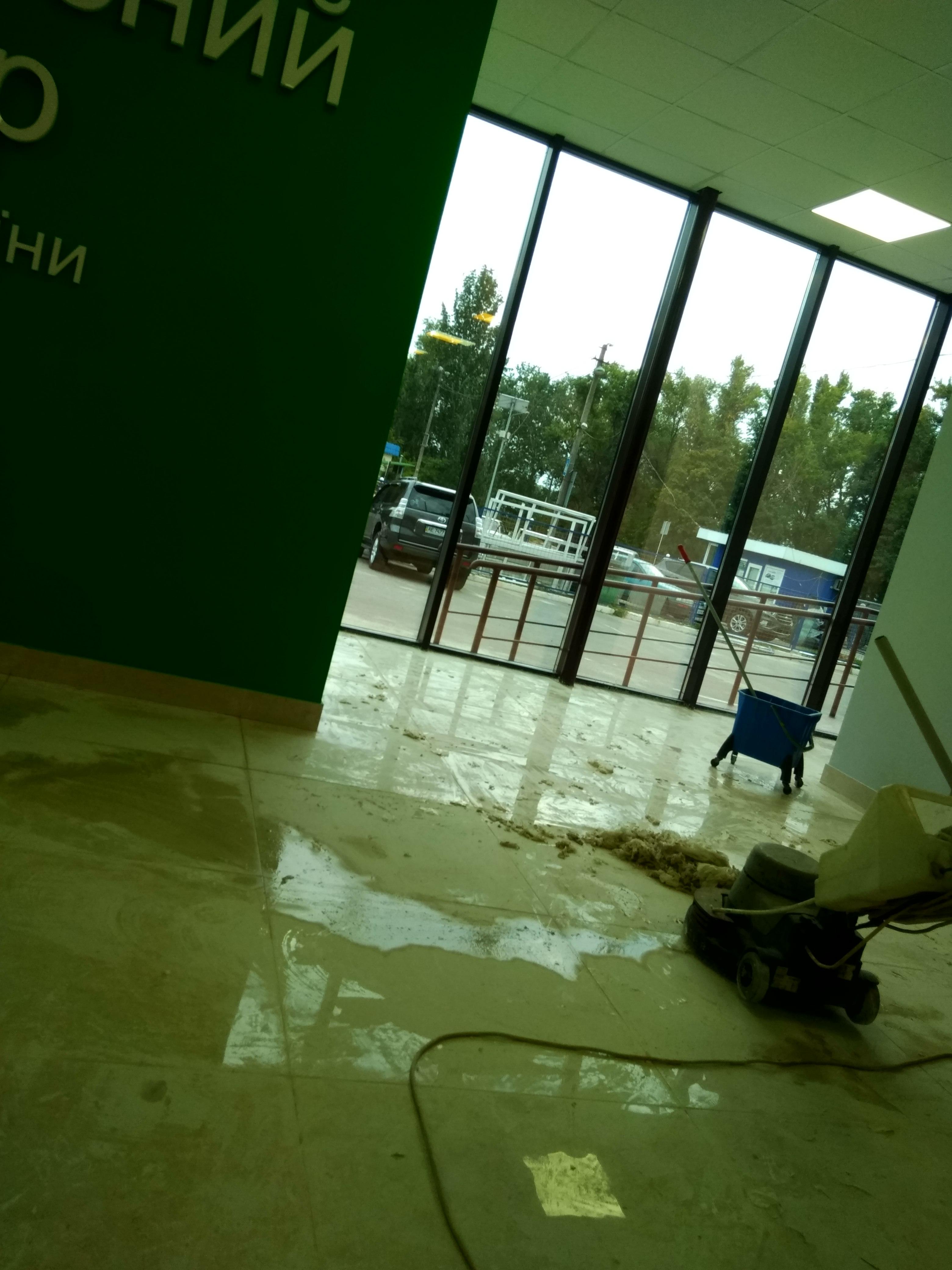Фото Чистовая ген.уборка гос.предприятия,после капитального ремонта. Было вложено тетоничский труд и произведен огромный спектр работ- на протяжении 3 дней.