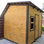 Строительство бань деревянных сборных
