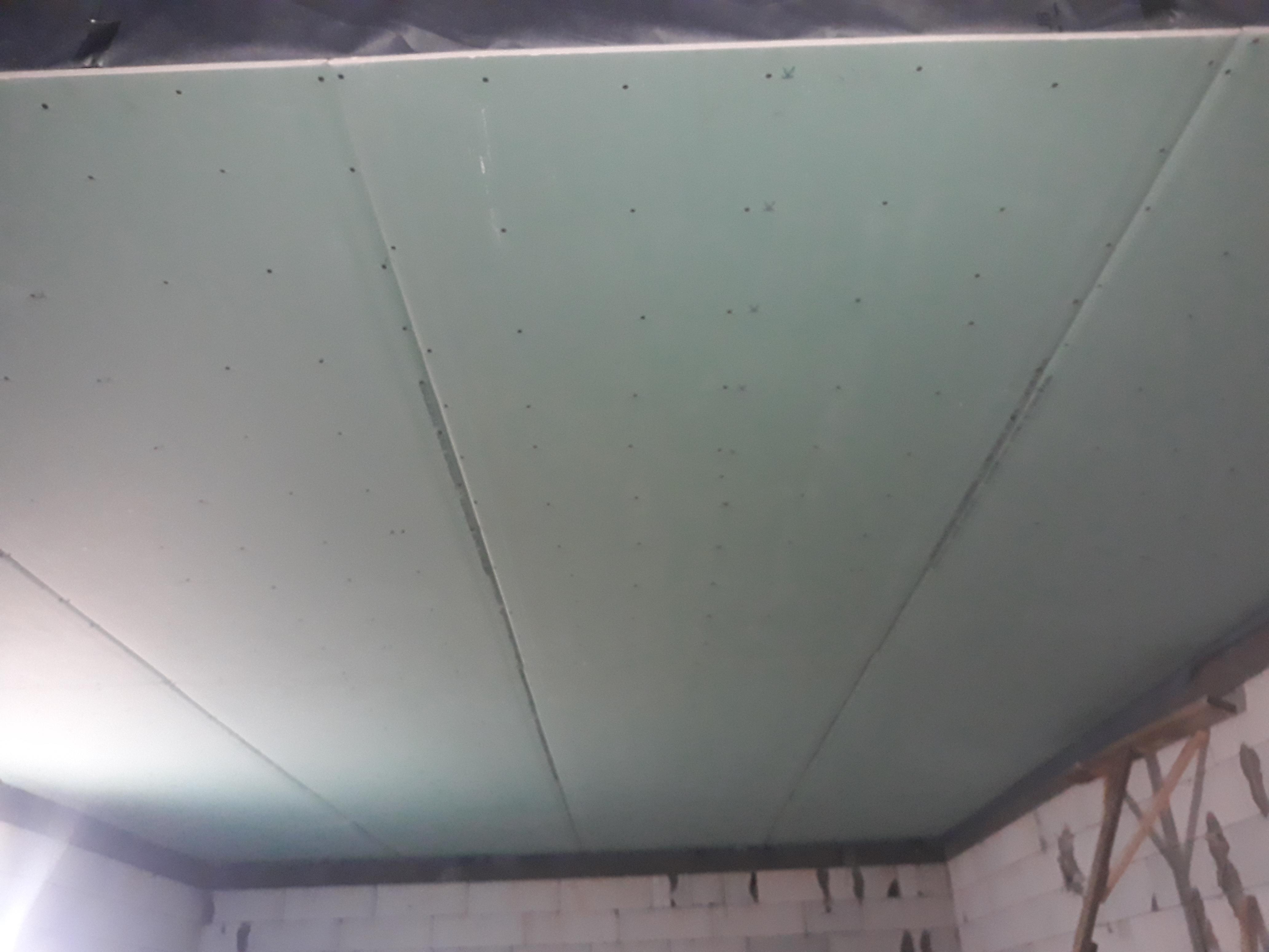 Фото Прямі потолки з гіпсокартону!!!