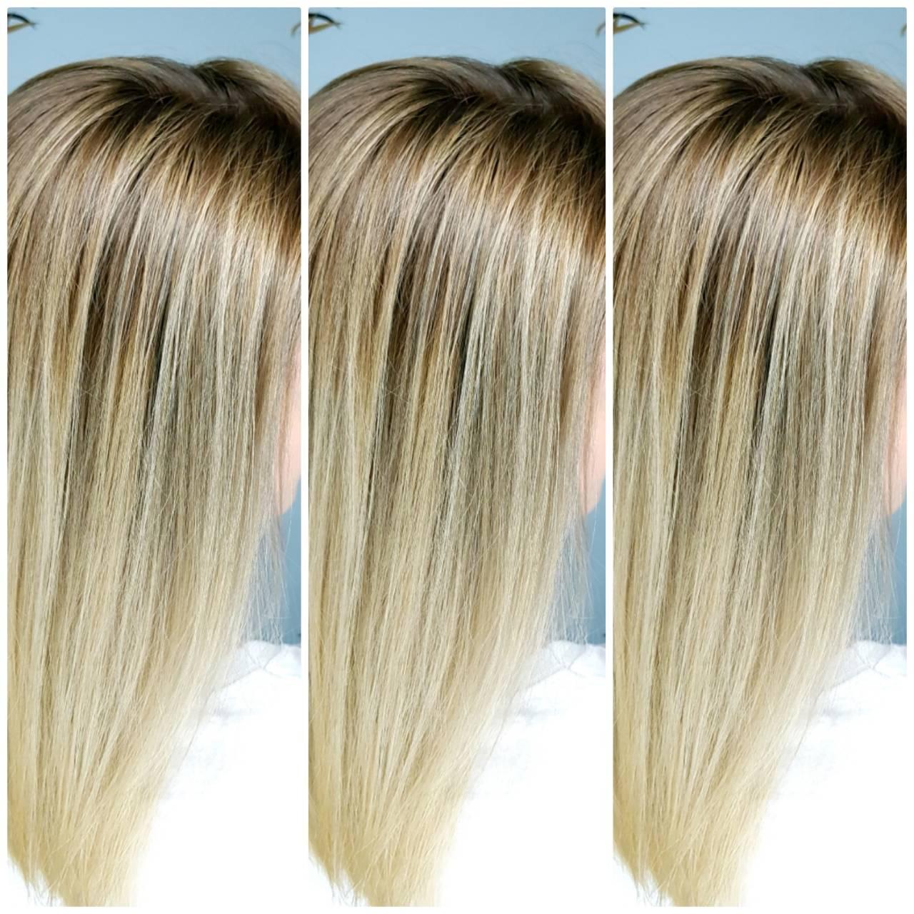 Фото Окрашивание волос
