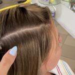 Ленточное наращивание волос. Волосы на биолентах