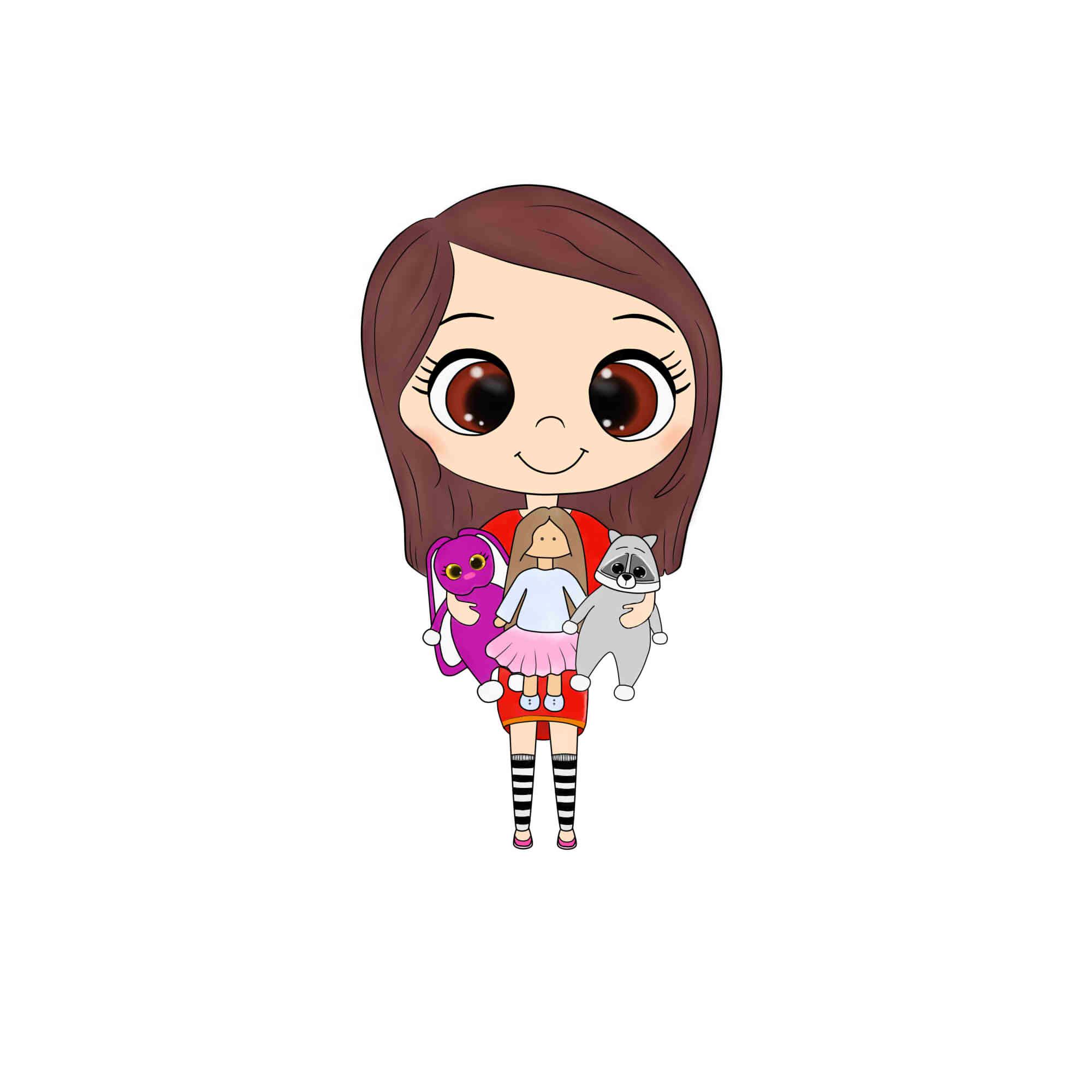 Фото Иллюстрация для логотипа вязаных игрушек