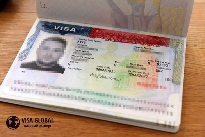 Фото Визовая поддержка в оформлении туристической визы в США на 10 лет