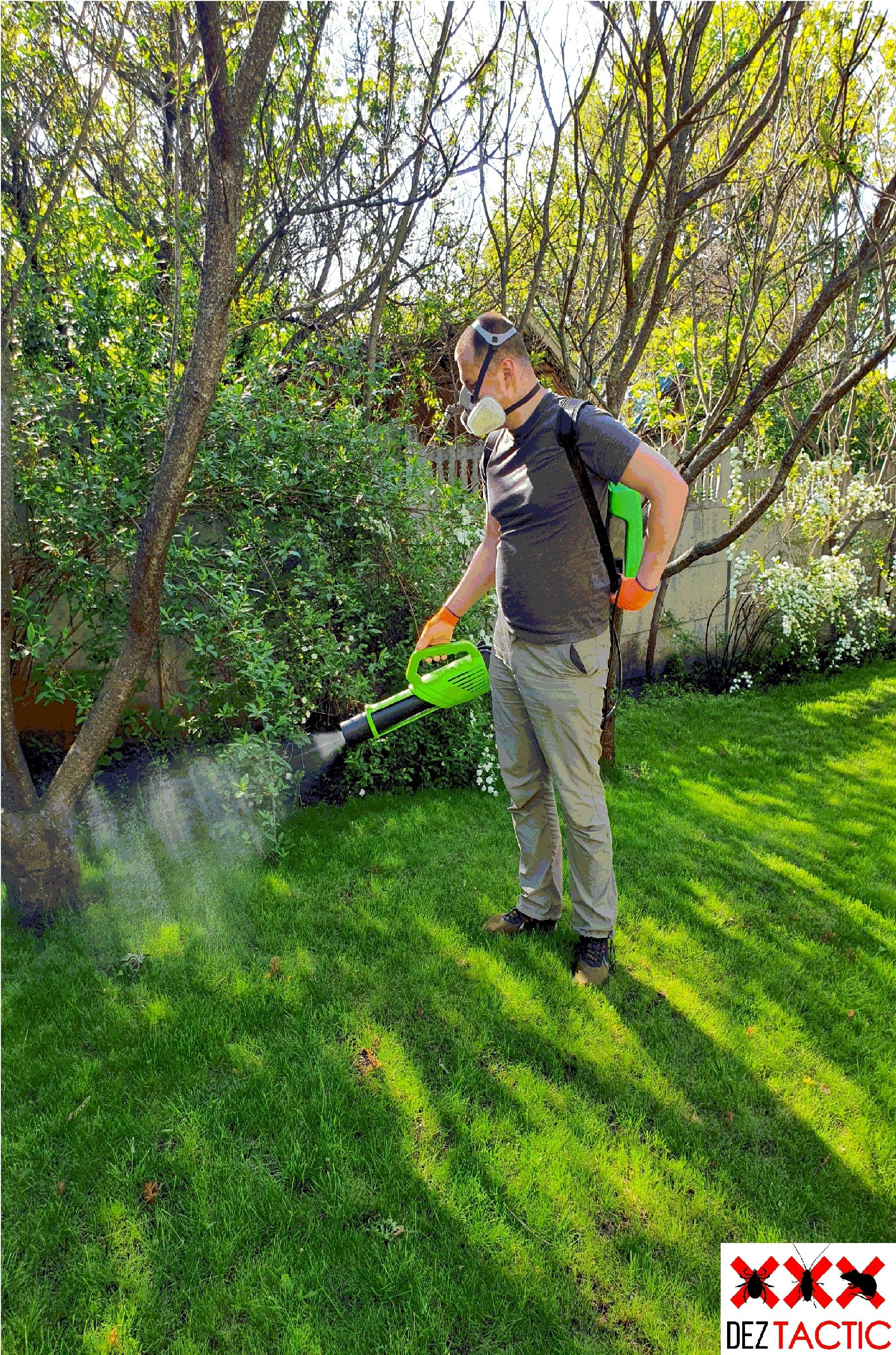 Фото Акарицидная обработка территории от клещей и комаров