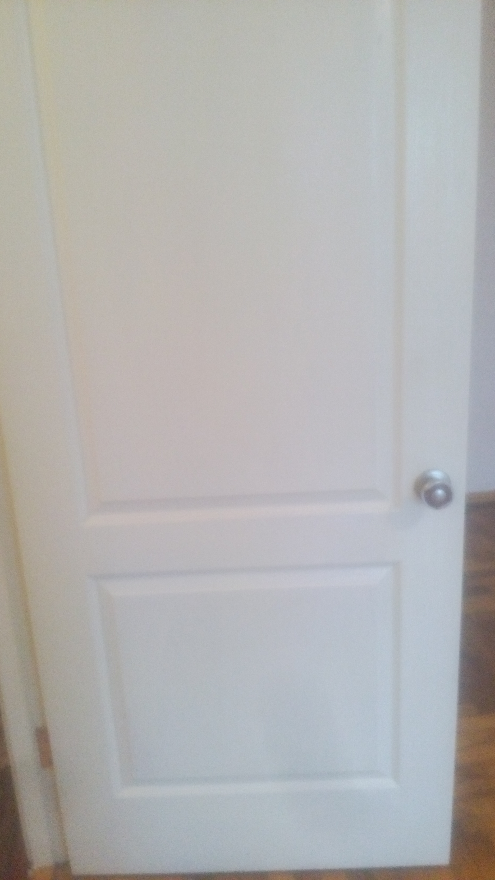 Фото Вымыть от пятен и  разных потеков дверь.