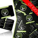 Разработаю дизайн/макет визитки
