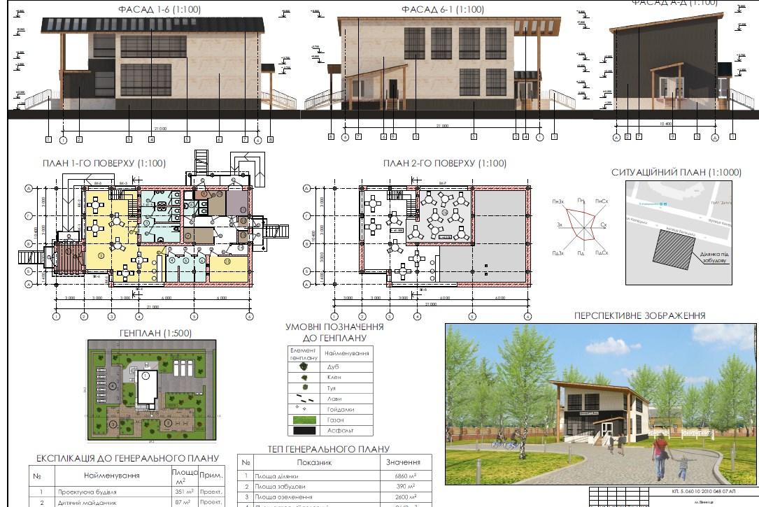 Фото Архитектурные/дизайн курсовые для колледжа, университета 3