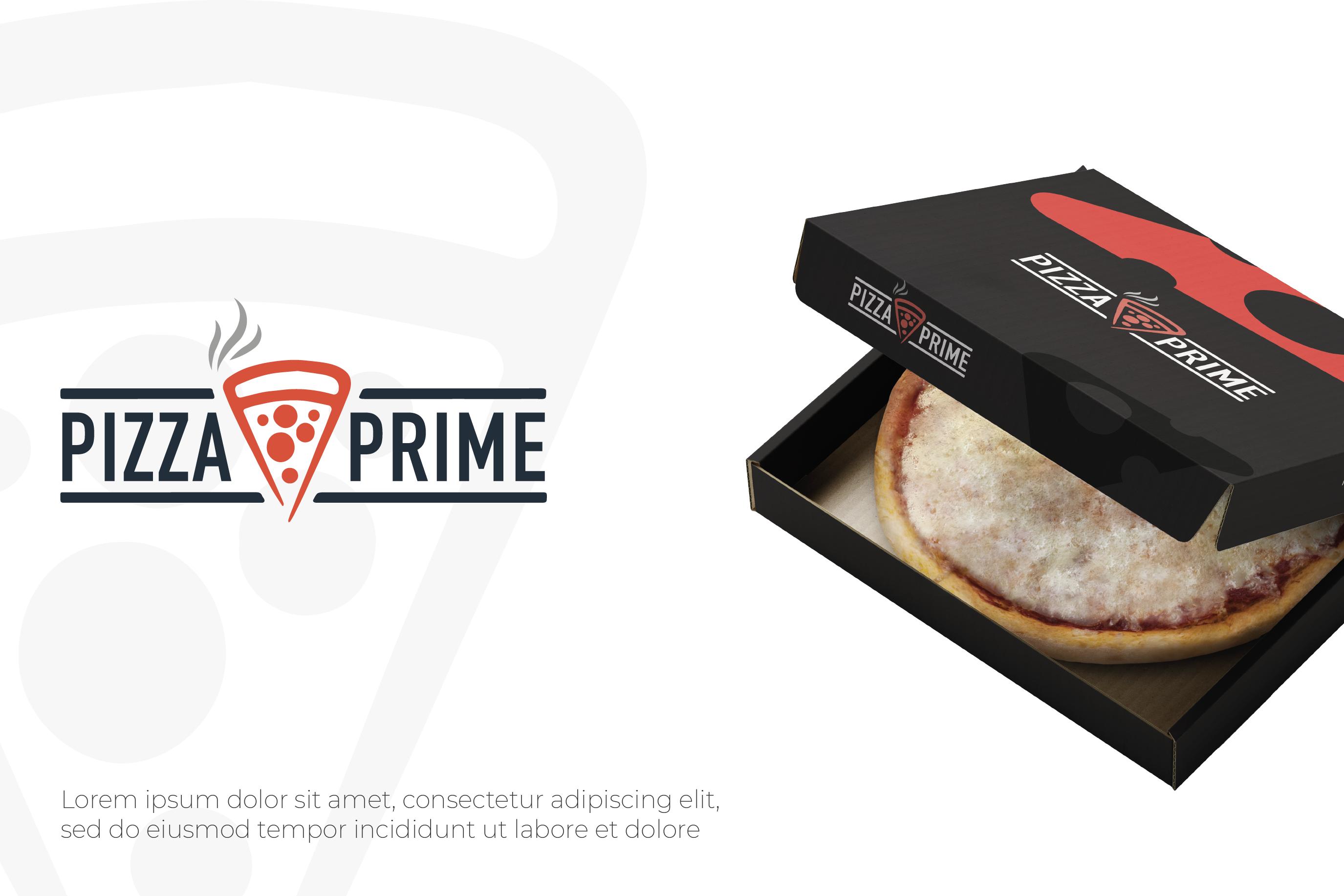 Фото Логотип для пиццерии