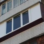Вынос балкона по подоконнику
