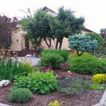 Обустройство участка и двора от бетона до газона с поливом,чувство прекрасного имеется , опыт 17 лет,я исполнитель