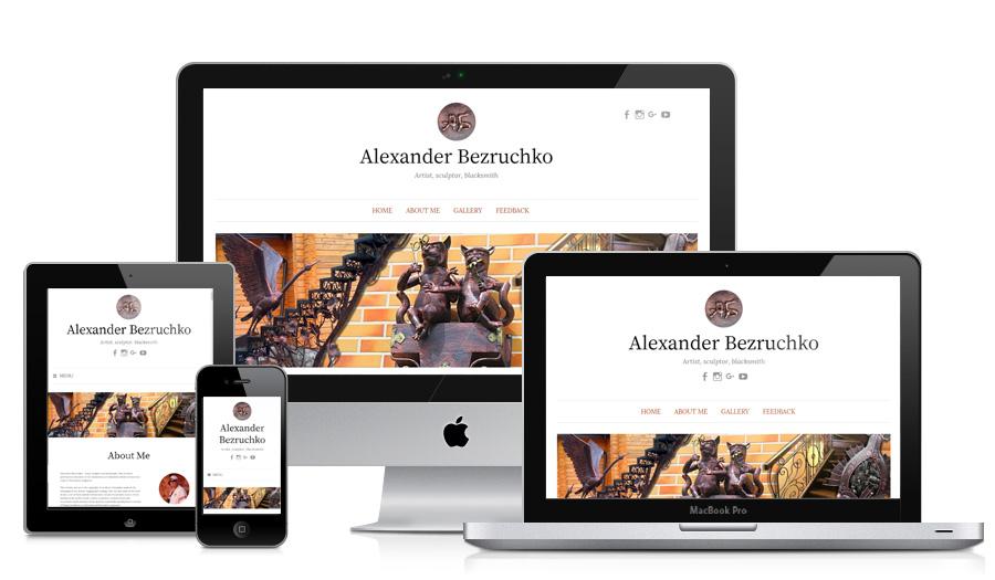 Фото Сайты для творческих людей и коллективов 1