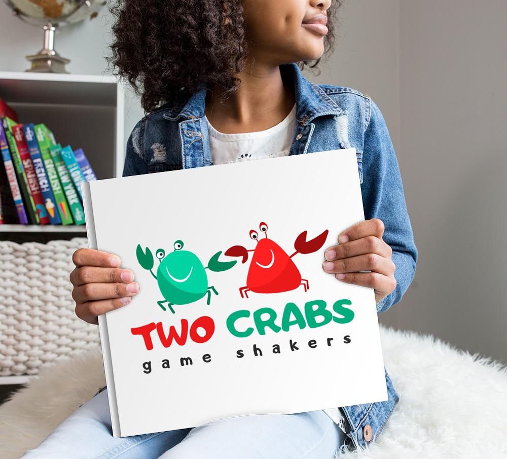 Фото Логотип был создан для двух мам подружек, которые сами придумывают интерактивные игры для деток:)