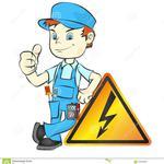 Услуги по ремонту електрических систем, електрик.
