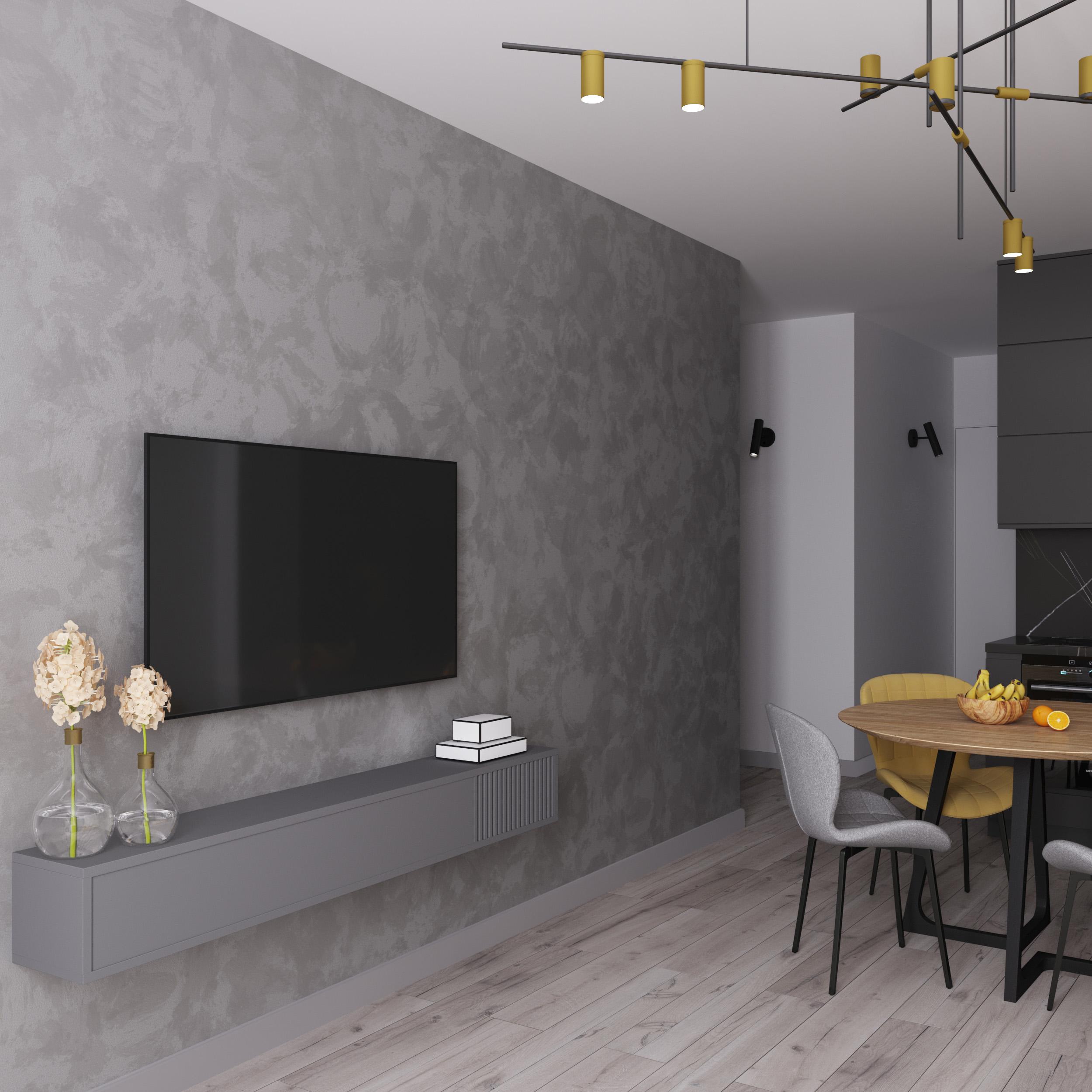 Фото Дизайн кухни-гостиной