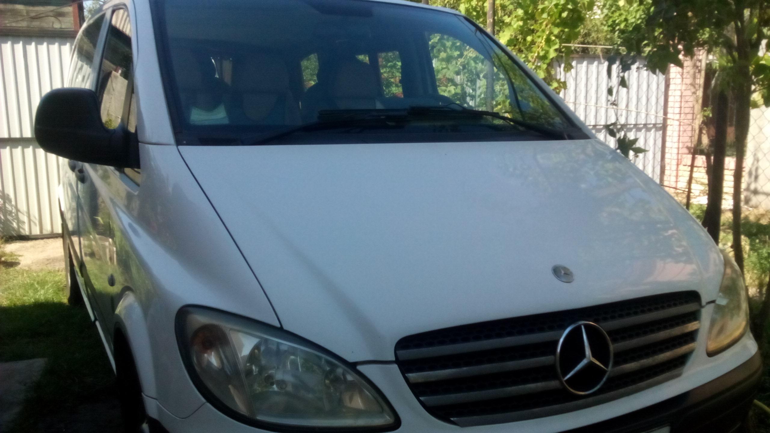 Фото Предоставляю услуги транспортного обслуживания на микроавтобусе Мерседес Вито, 7 мест. 2