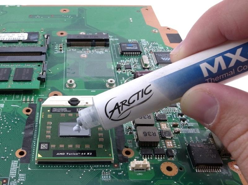 Фото Чистка ноутбуков с заменой термопасты. 1