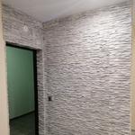 Монтаж декоративной плитки на стены