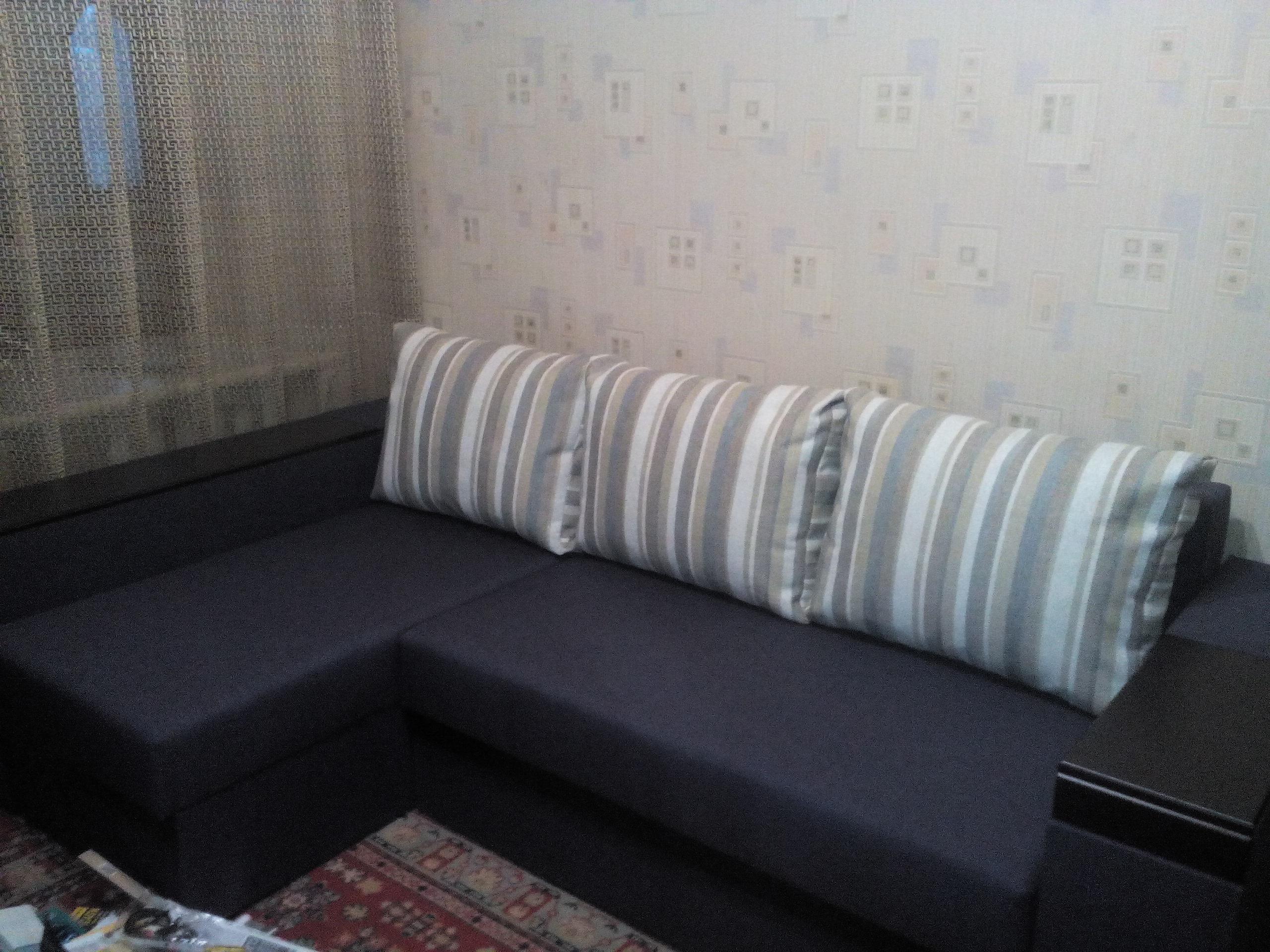 Фото Сборка углового дивана