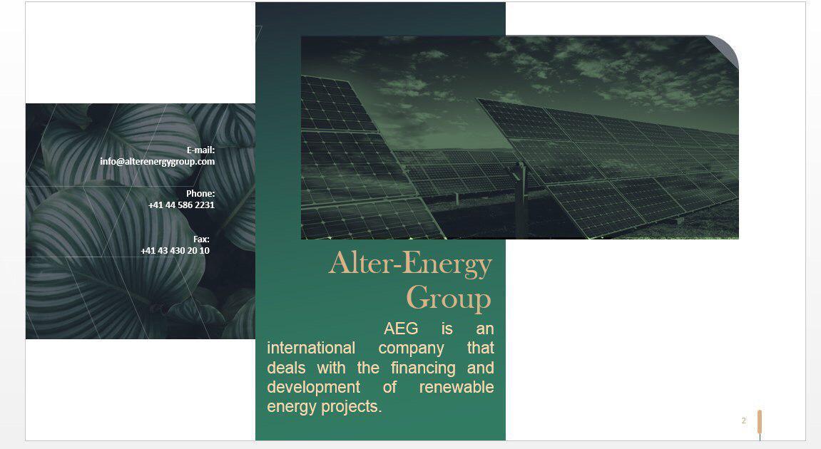 Фото Презентация для фирмы, 10 слайдов. Срок - 1 час.