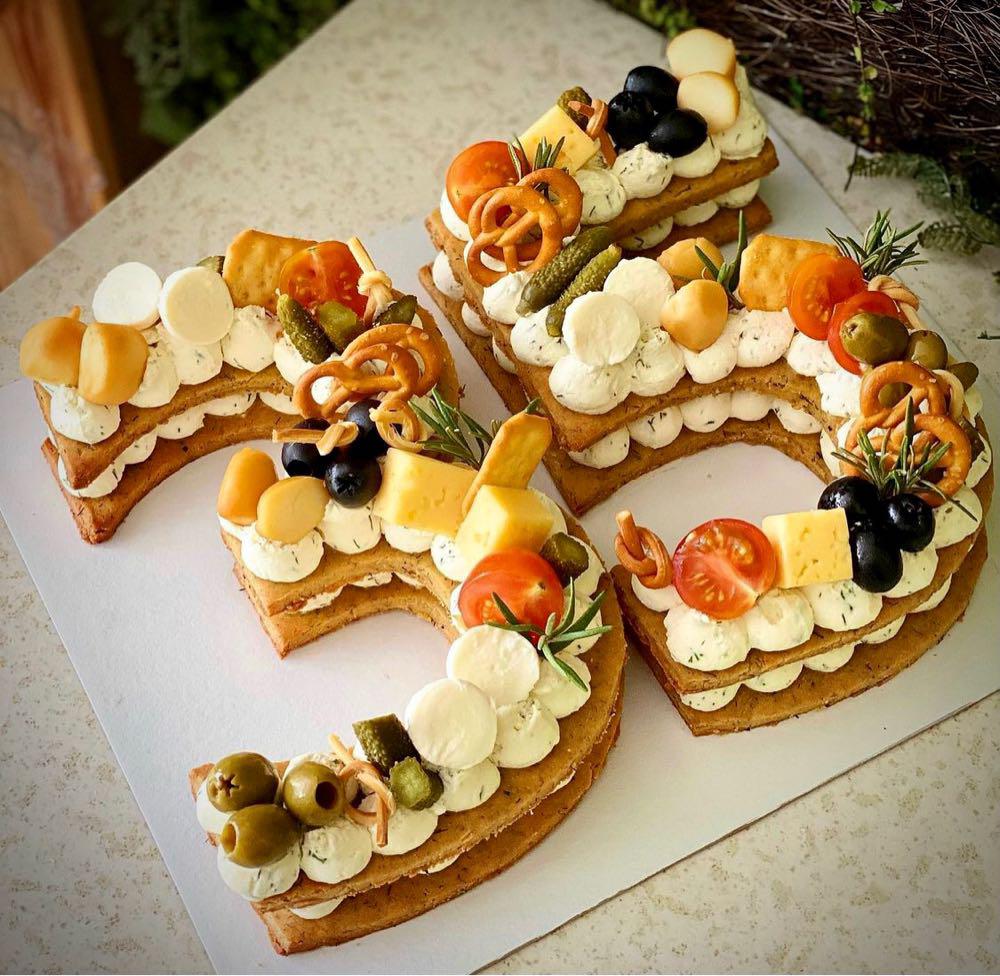 Фото Закусочный торт 5