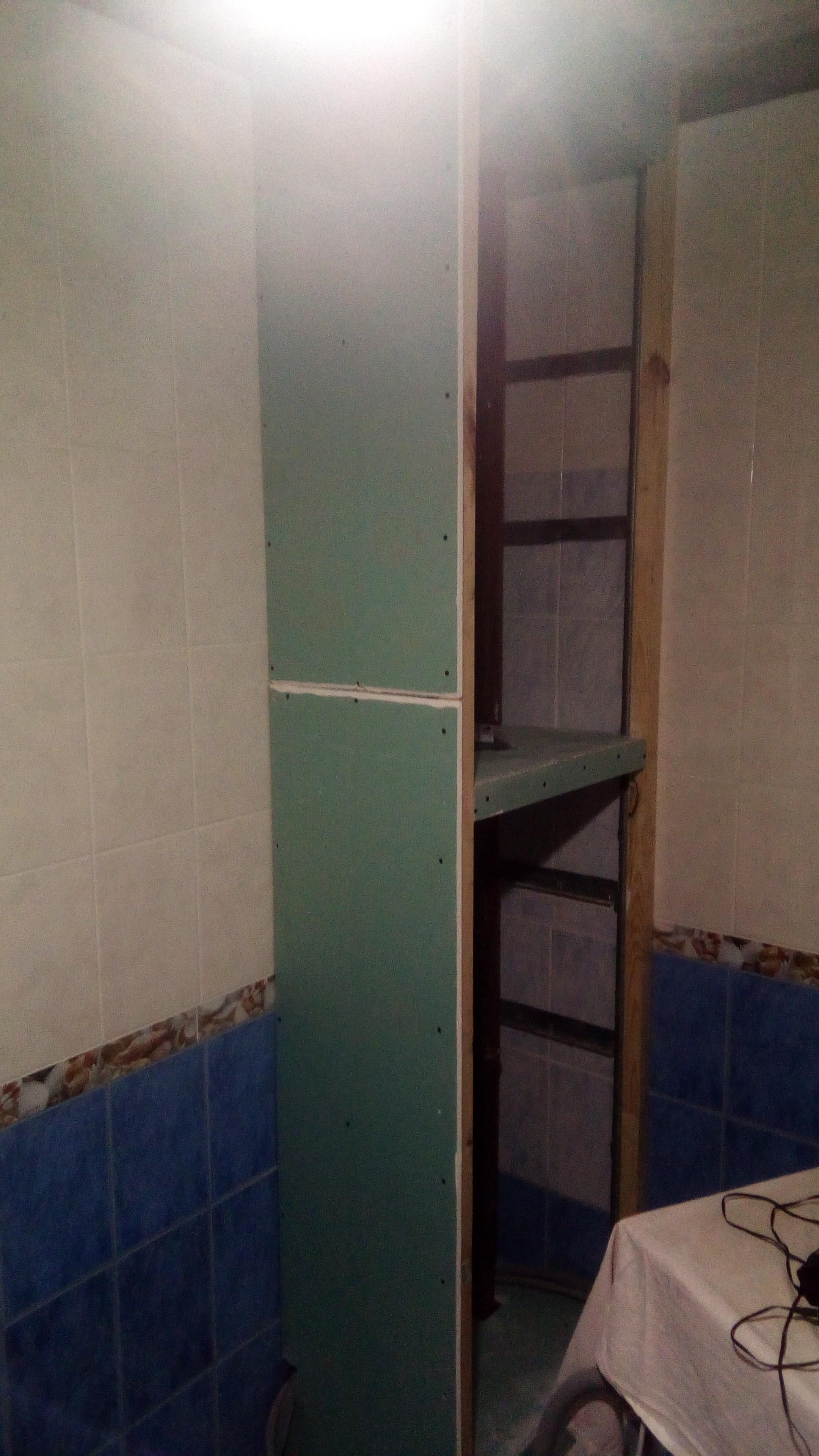 Фото Шкаф в ванной
