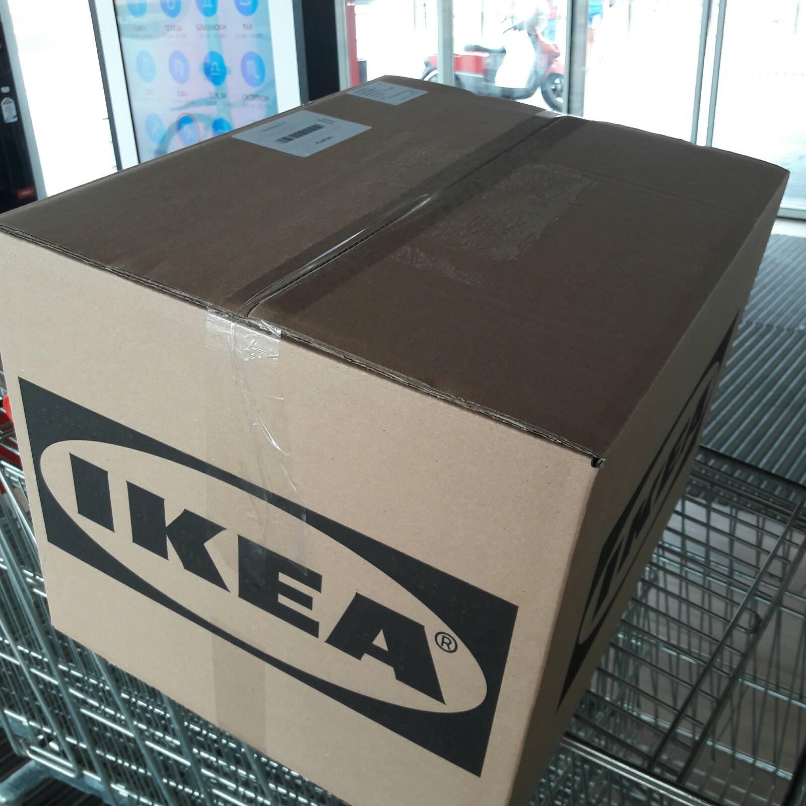 """Фото Забрати товар із IKEA й відправити Новою поштою.  """"Алла - дуже приємна, ввічлива і відповідальна людина. Оперативно забрала посилку і відправила Новою поштою. Все чудово. Рекомендую!""""  Ольга"""