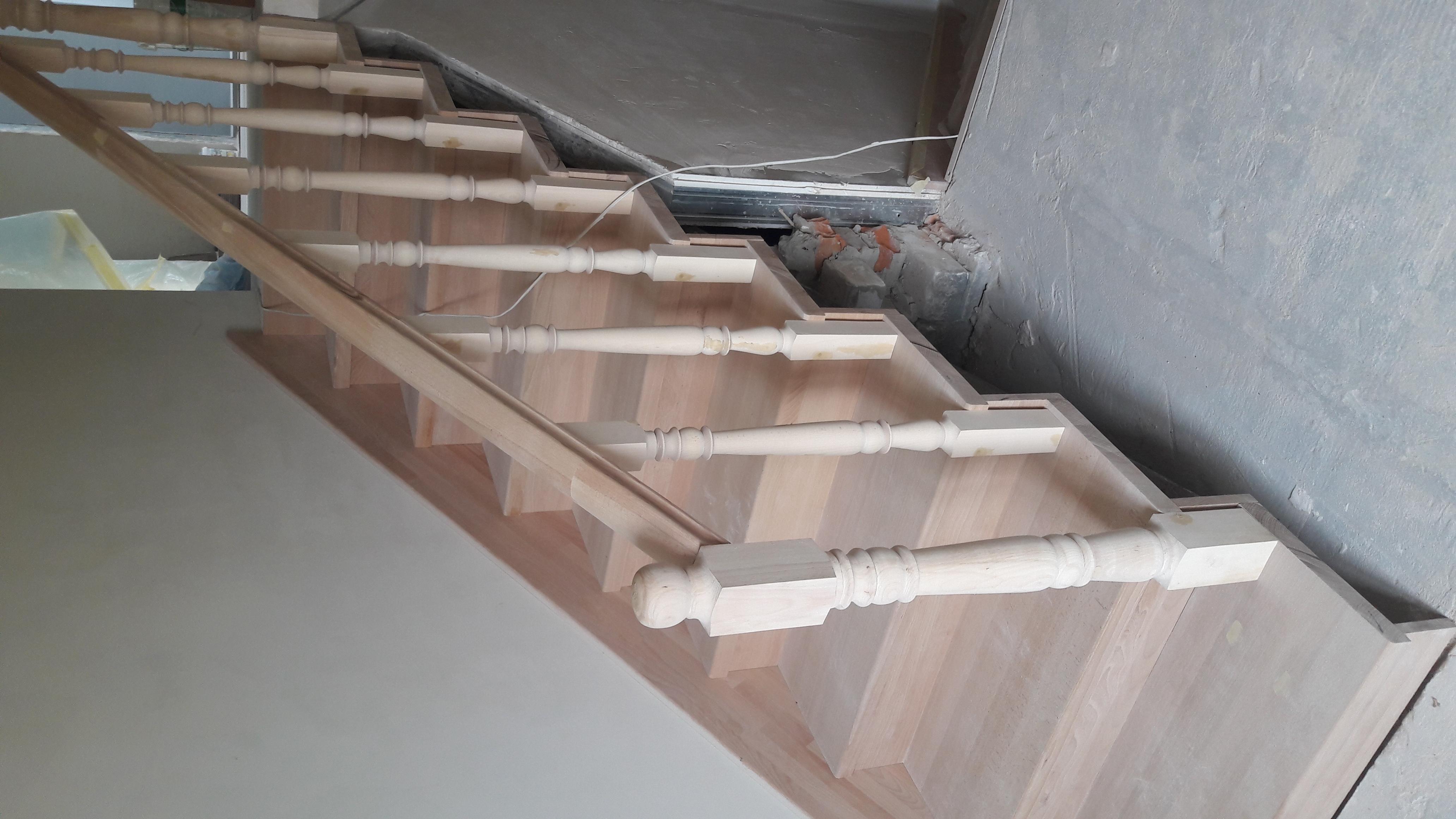 Фото Обшивка бетонных лестниц 1
