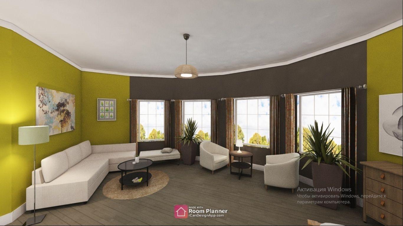 Фото Был выполнен заказ на создание дизайна гостинной.  Выполнен в срок по приятной цене.