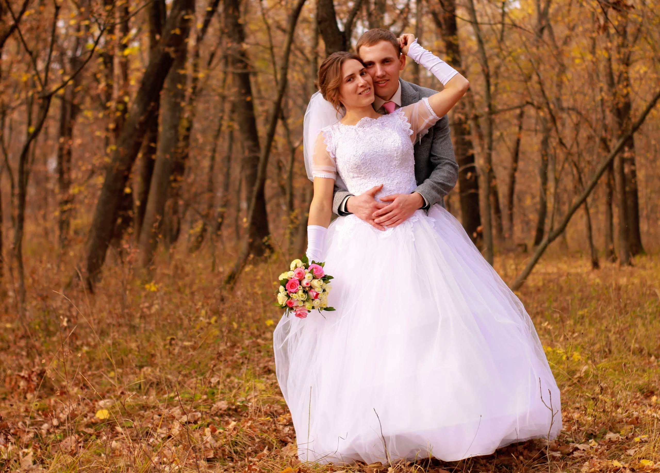Фото Пошила платье на собственную свадьбу. Время выполнения 1 неделя.