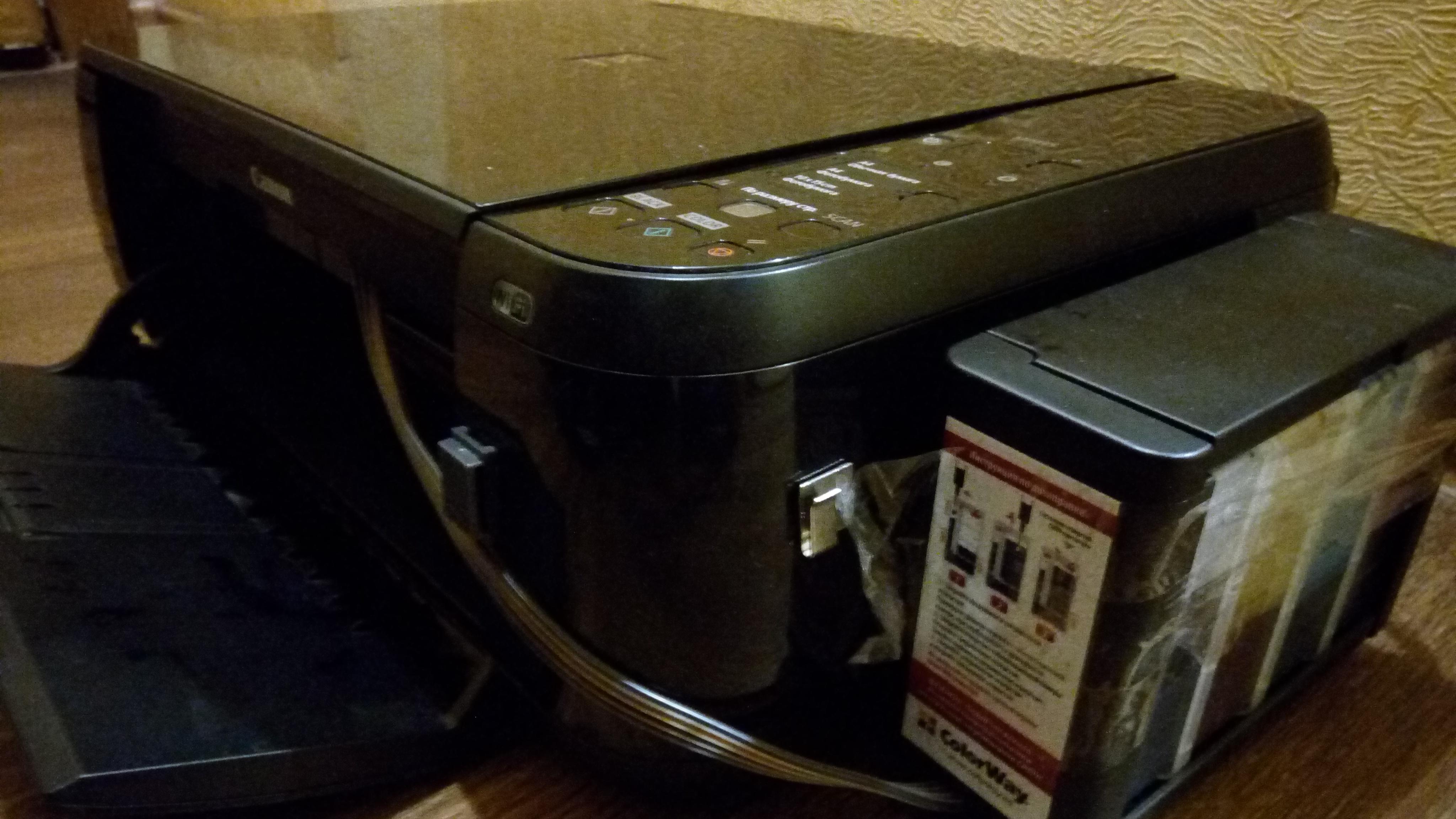 Фото Очистка печатающей головки принтера