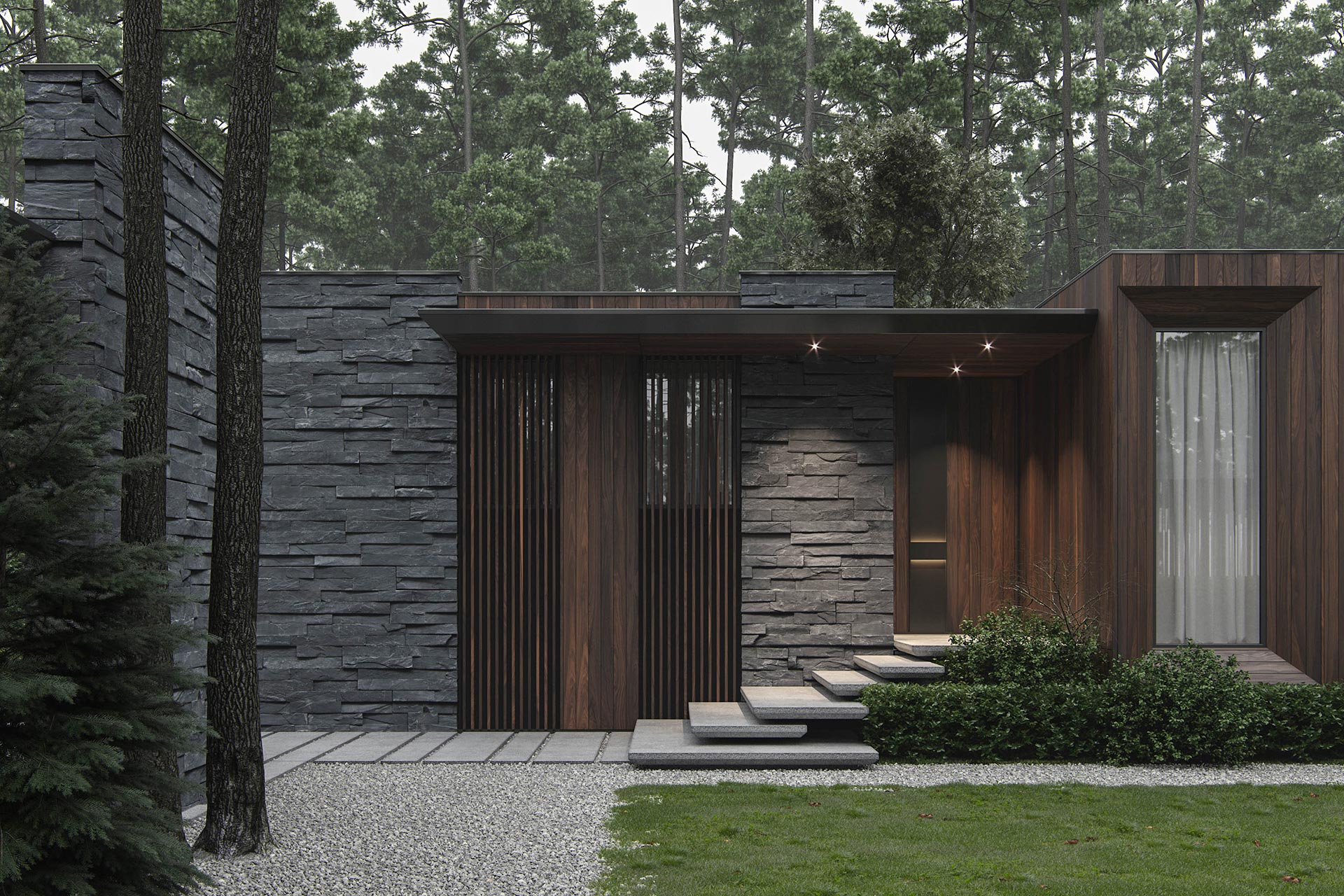 Фото Архітектурне проектування заміського будинку.