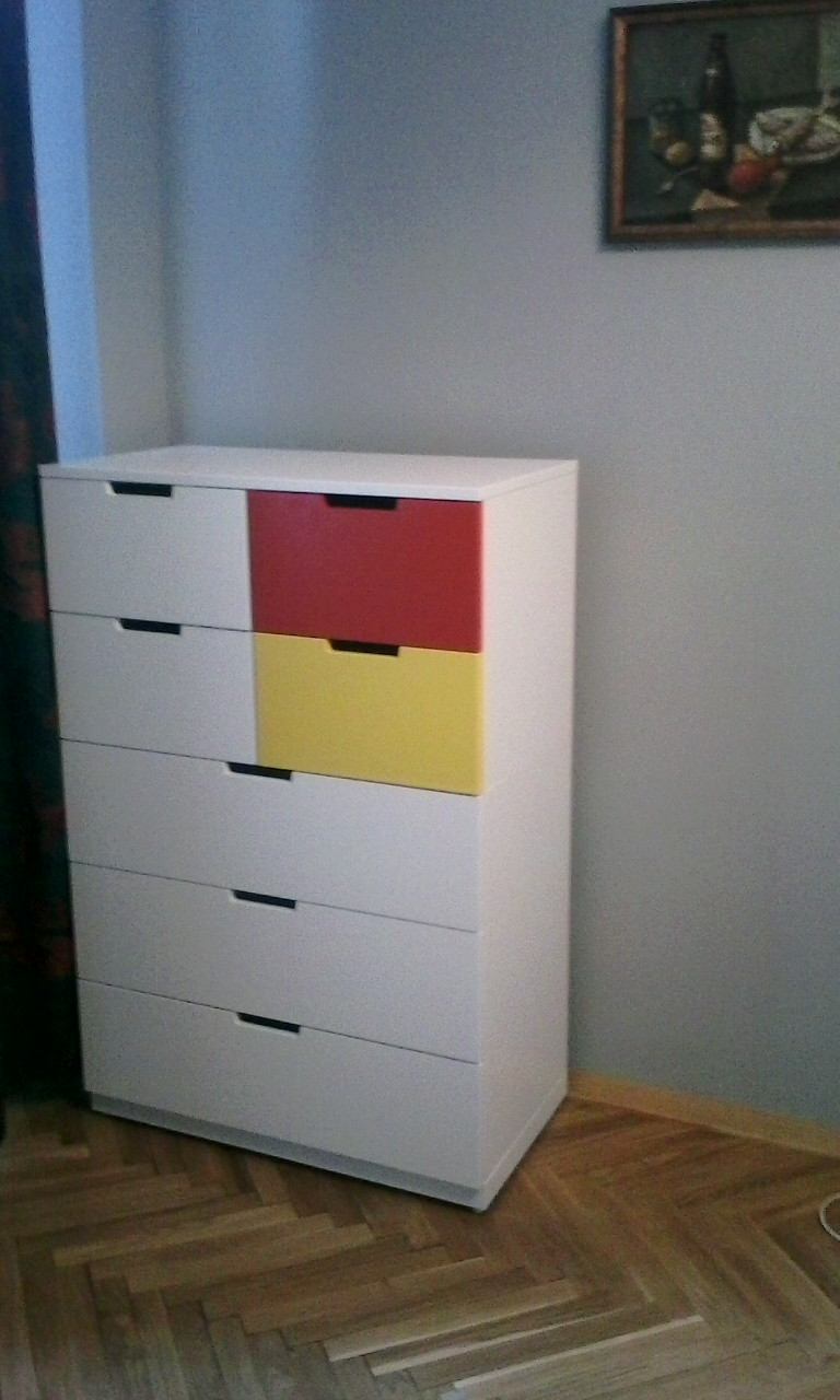 Фото Сборка комода Ikea 1