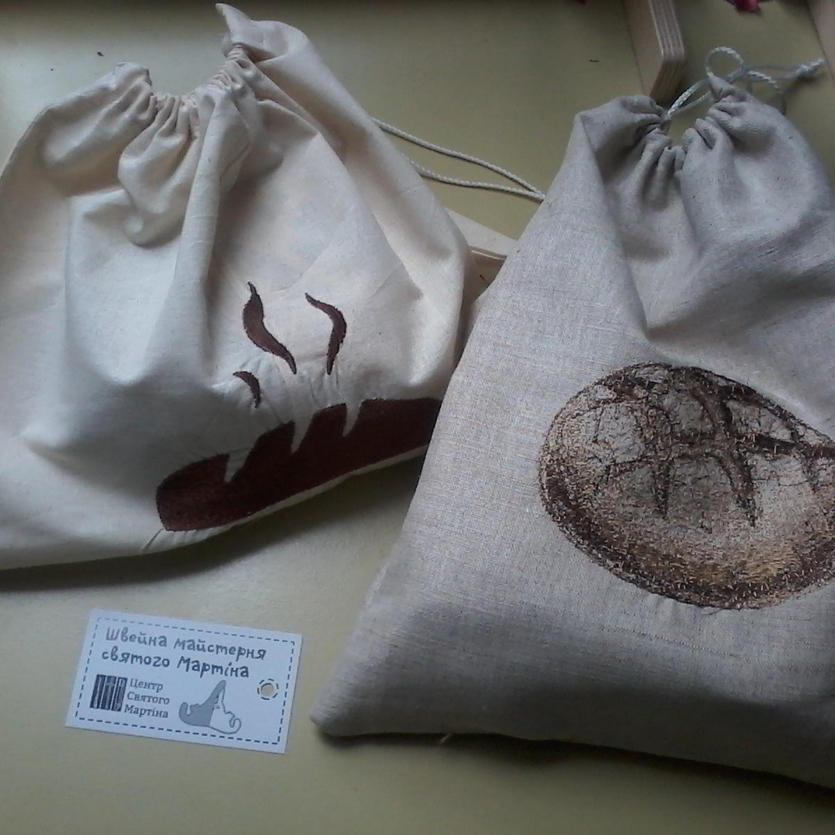 Фото Эко-сумки и другие креативные изделия с  машинной вышивкой 3