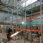 Монтаж и установка металлических складских стеллажей