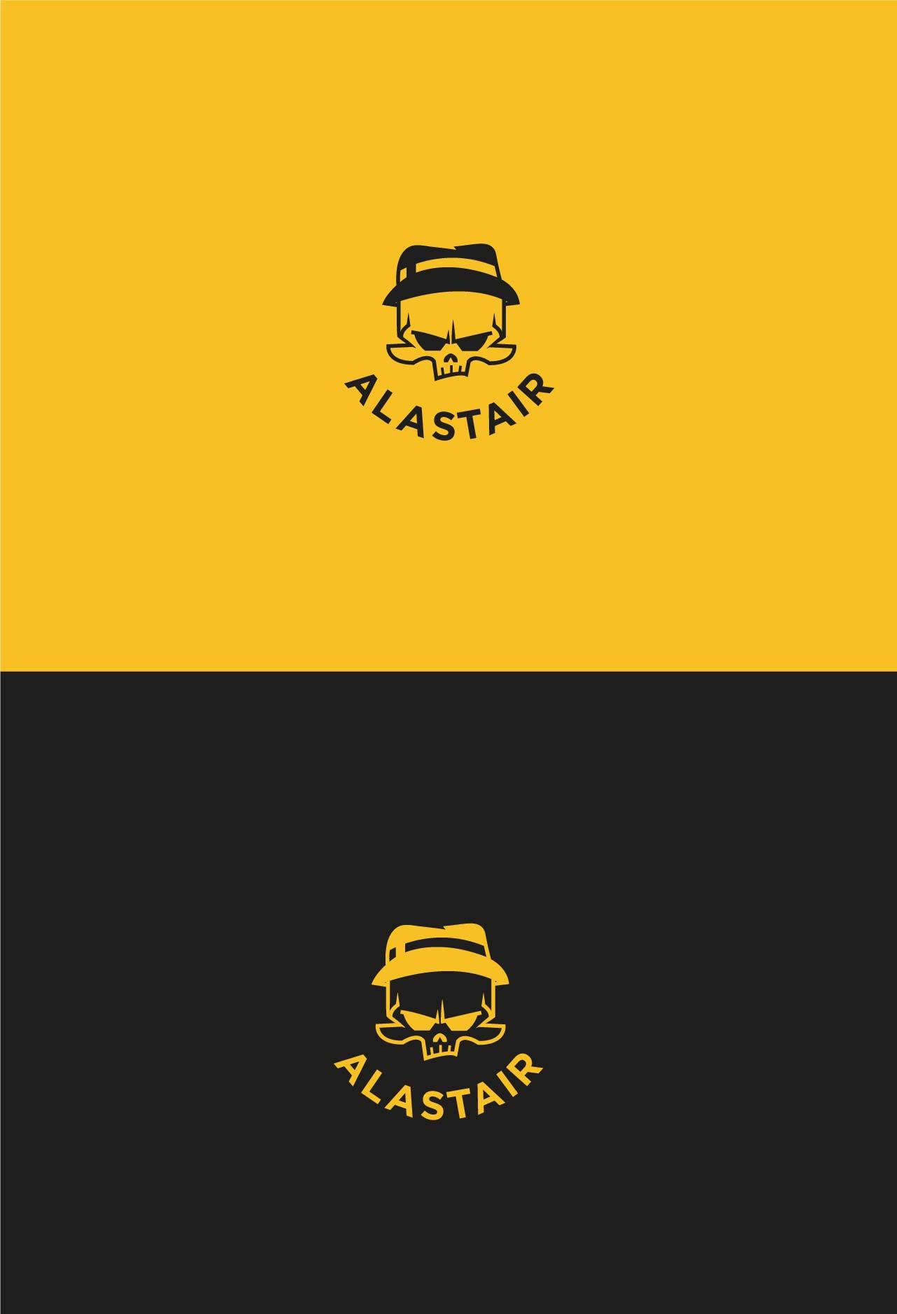 Фото Разработка дизайна логотипа для интернет-магазина рок-атрибутики «Alastair» Вариант 7