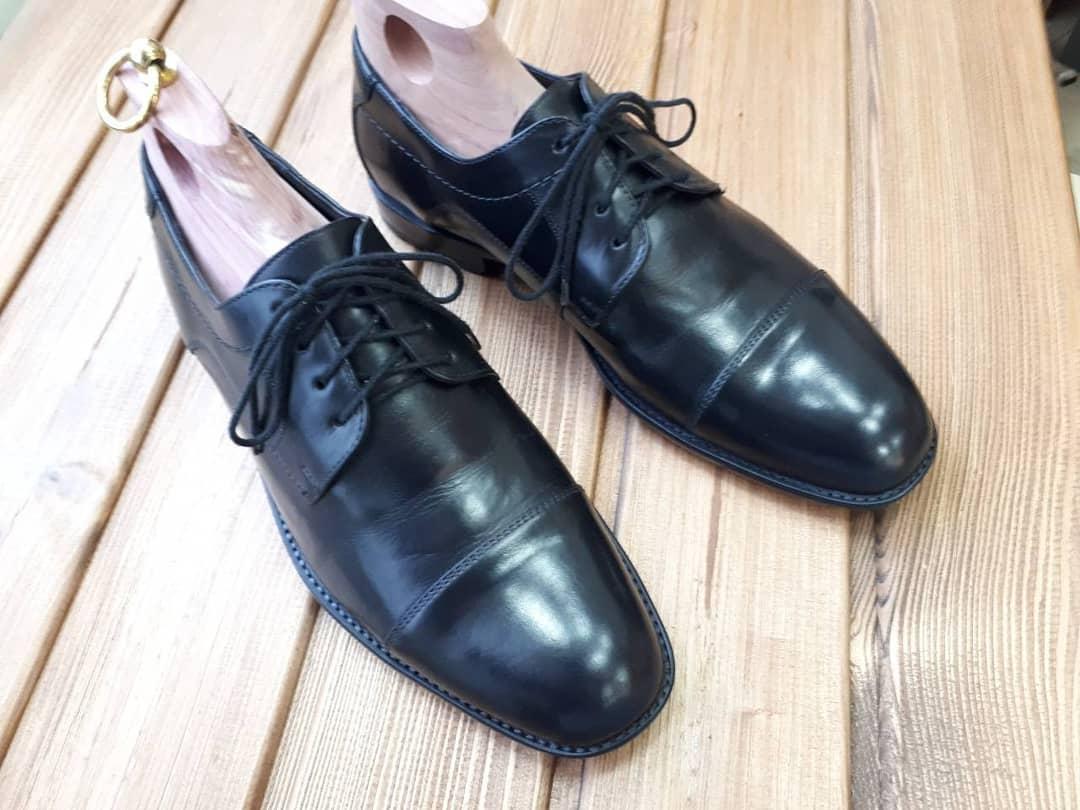 Фото Покраска обуви из гладкой кожи 1