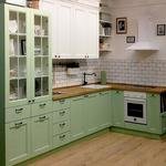 Фрезеровка кухонных фасадов простая шлифованный МДФ 19мм