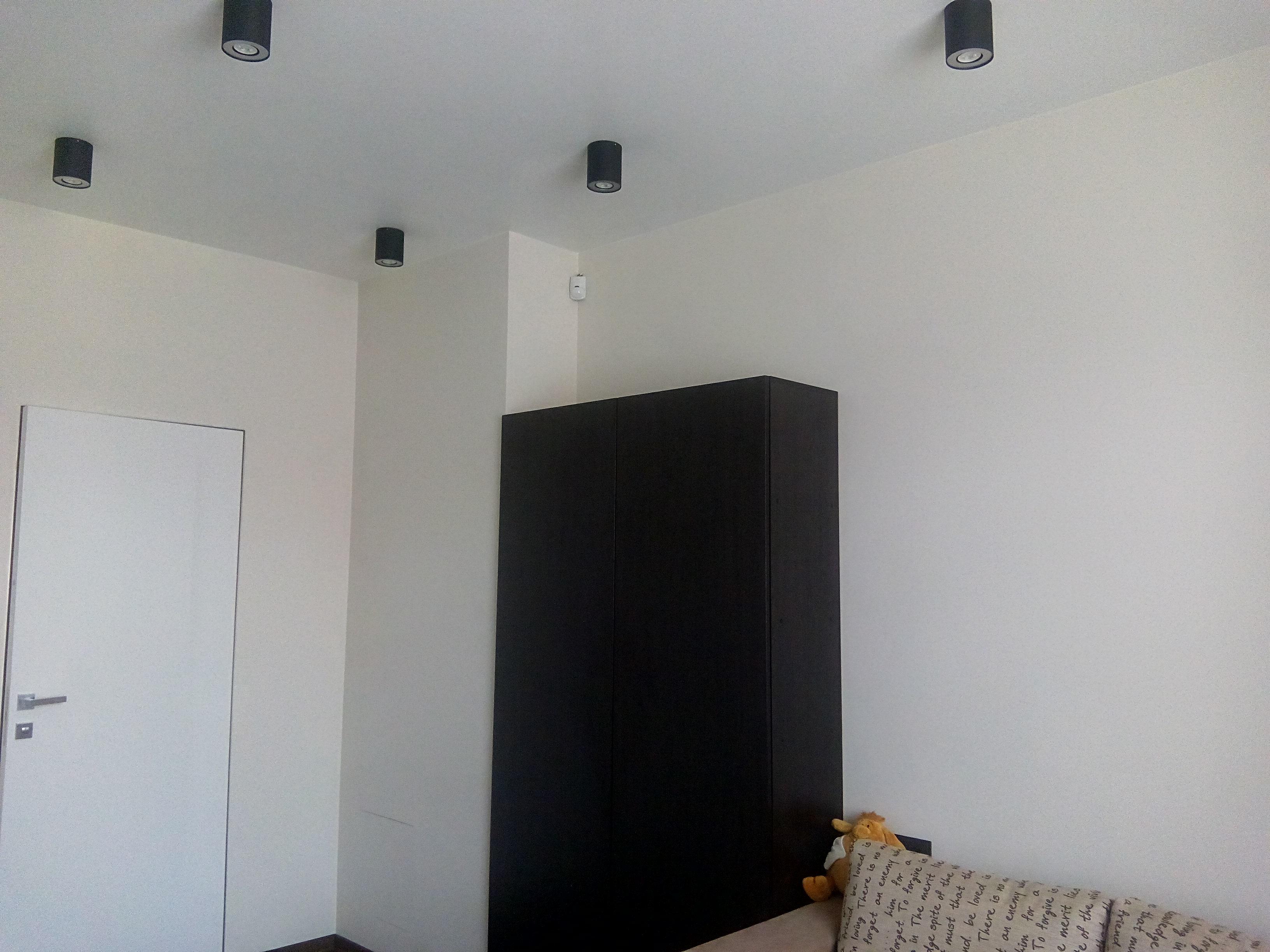 Фото 3 этажа, установка охранной сигнализации + програмирование; лунь 11; Линд - 11; 15 беспроводных датчиков открытия Ajax DoorProtect; 10 Датчиков движения.