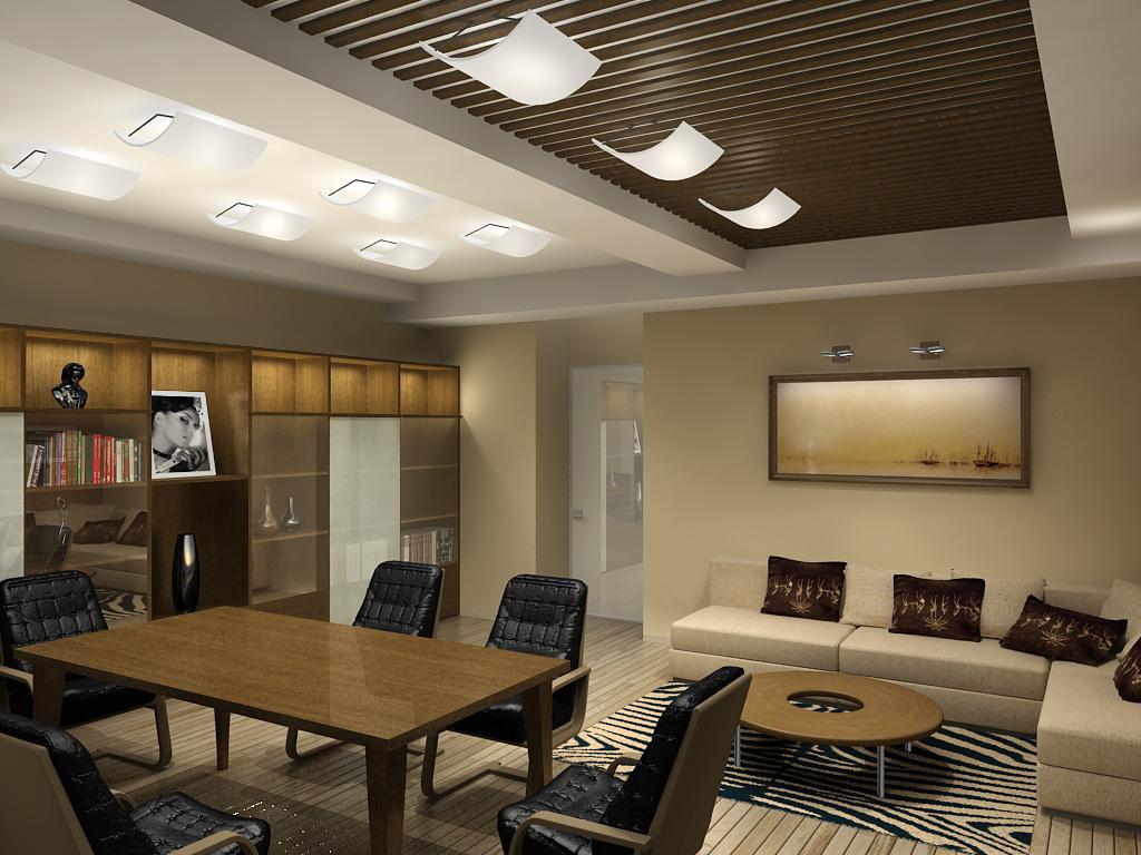 Фото Дизайн интерьера. Комната для переговоров.