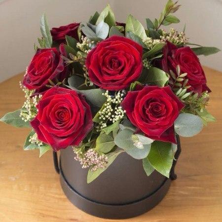 Фото Доставка цветов в коробке мной все довольны на 100%