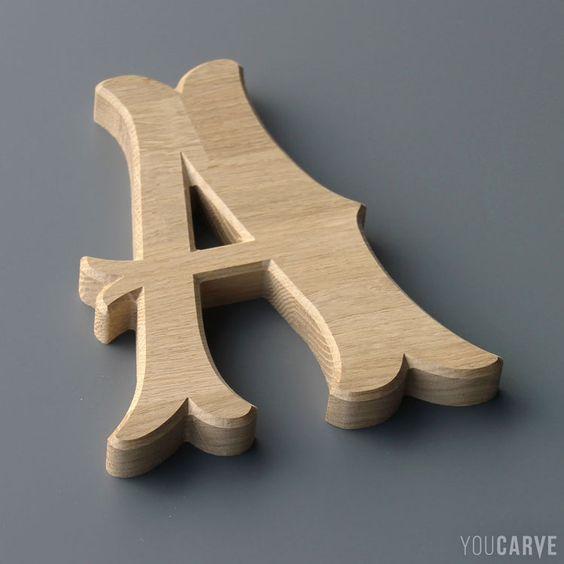 Фото Изготовление объемных букв и символов. Создание декора.