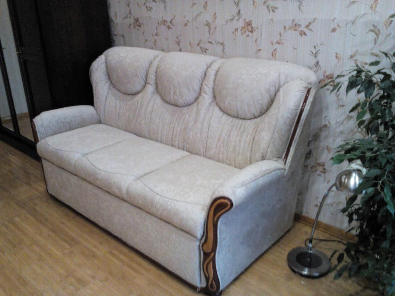 Фото Перетяжка/реставрация любой мягкий мебели  3
