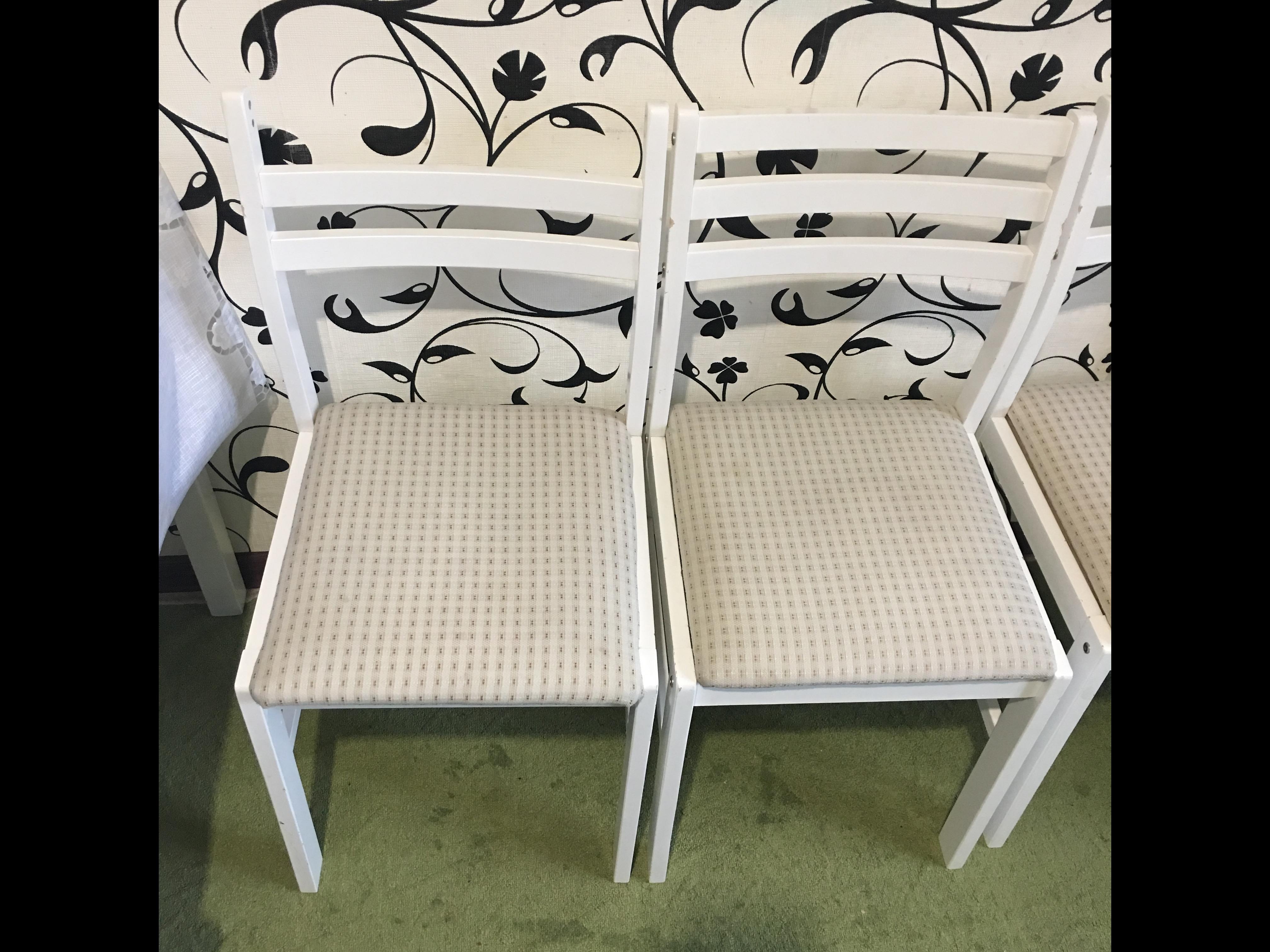 Фото Химчистка кухонных стульев (после)