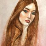 Портреты акварелью