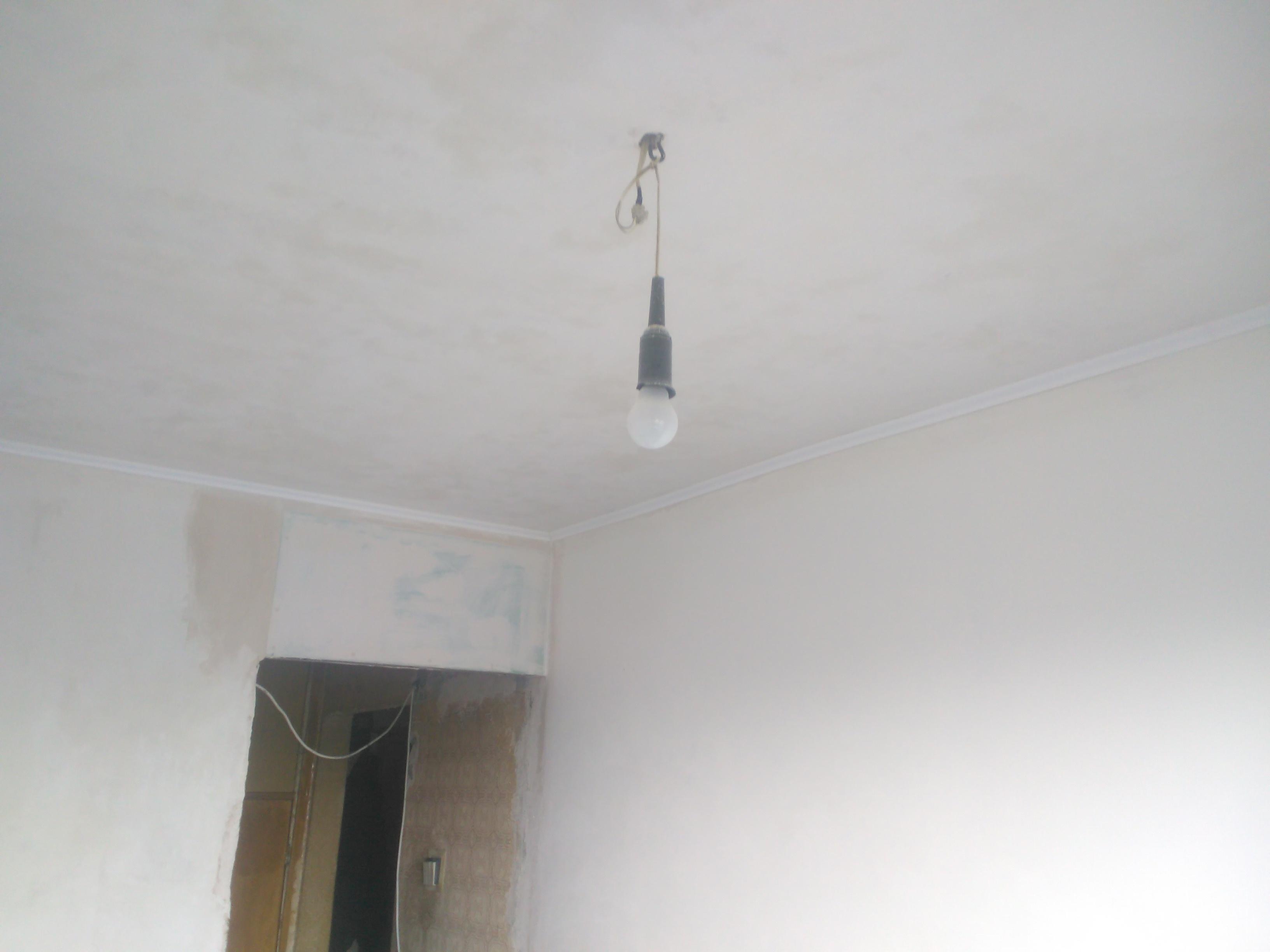 Фото Подготовка стен и потолка