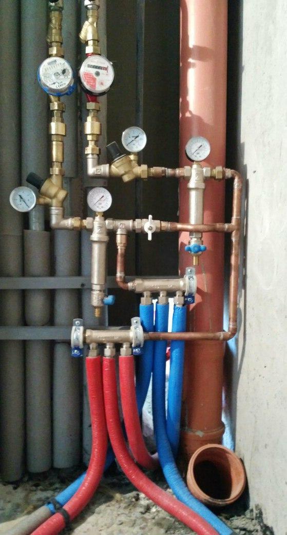 Фото Монтаж, полная или частичная замена водопровода в квартире 5