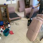 Професиональная химчистка дивана ковра матраса