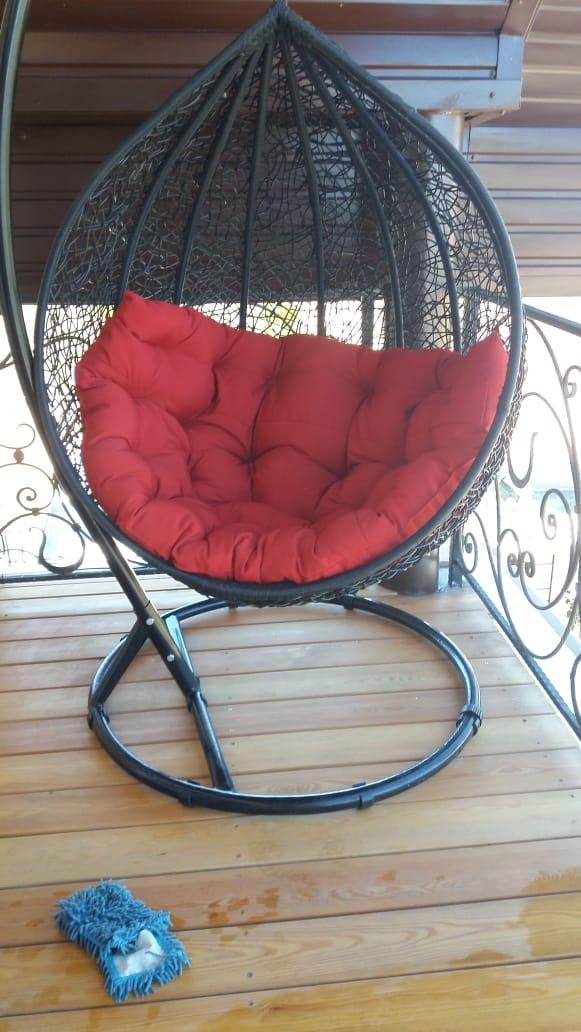 Фото Чистка кресла и мойка балкона после строителей .Это уже результат
