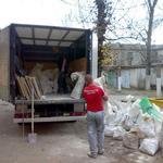 Вывоз строймусора, старых рам окон и дверей в Запорожье
